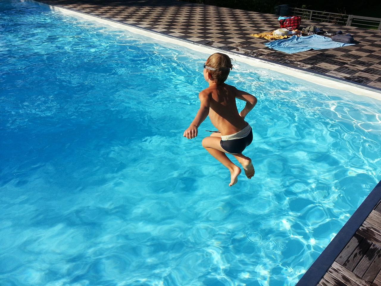 Kinderfest im Schwimmbad