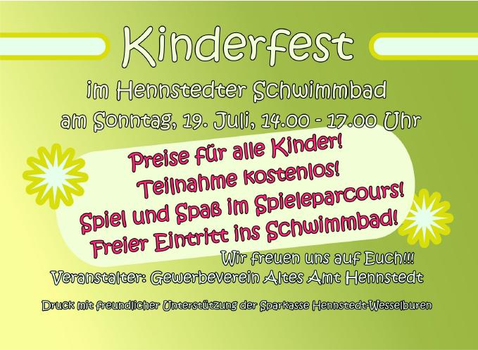 Kinderfest 2015 - Impressionen