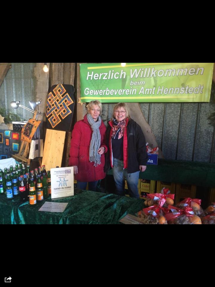 Weihnachstmarkt 2014 in Hennstedt